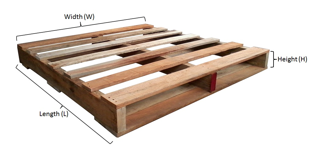 Wooden Pallet Sizes Malaysia | Multi Size Pallet Available